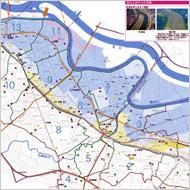 参考:北区荒川水域ハザードマップ
