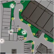 参考:夜間照明の見直し計画図 (管理組合様との協議資料)