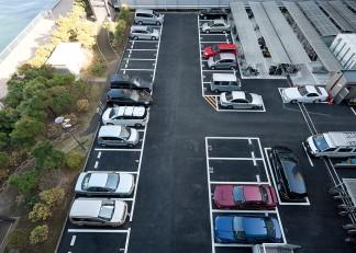 駐車場(修繕後)