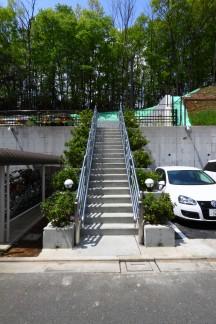 階段(工事後)