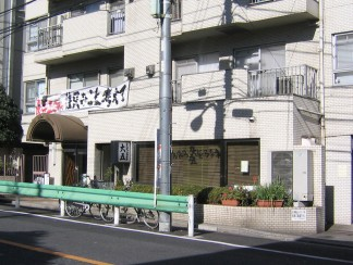 1階店舗エントランス外観(修繕前)