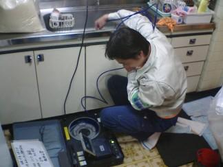 専有部分の排水管調査