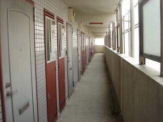 共用廊下(修繕前)