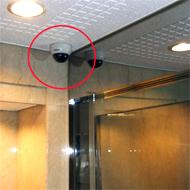 それぞれの場所に適した機能のカメラを使い分けます。