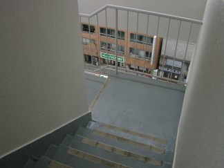 階段(修繕後)