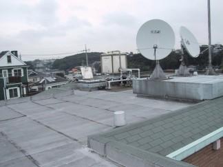 屋上防水(修繕前)