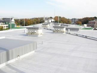 屋上防水(修繕後)