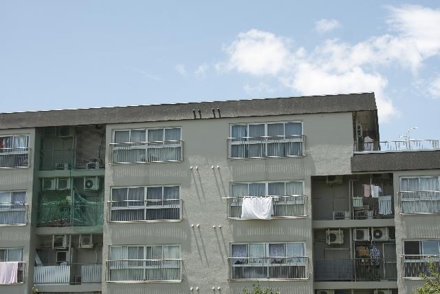 一般的なマンションの外観